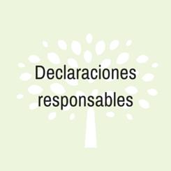 declaraciones responsables