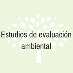 estudios evaluacion ambiental